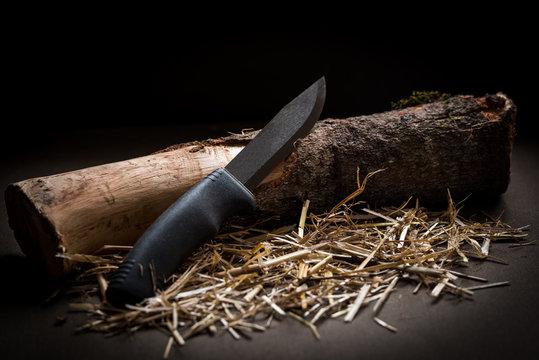 Knife bushcraft and survival best friend