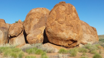 Australien, Outback, Devil Marbels