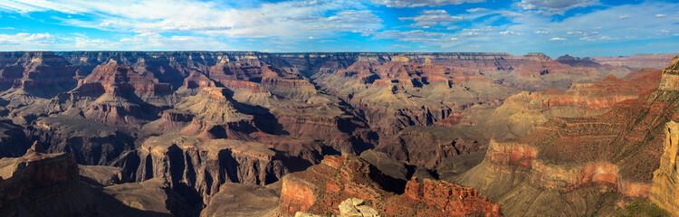 Panoramic of Grand Canyon, south rim.