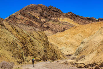 Golden Canyon in Death Valley National Park.