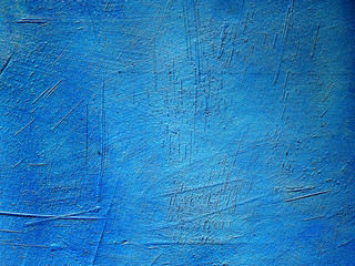 blue background texture cement wall