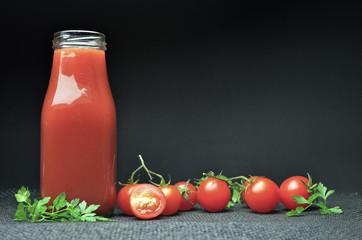 Fresh tomato smoothie diet