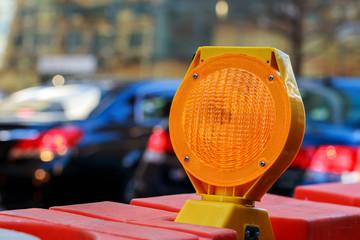 Yellow Warning Light