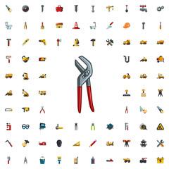 pliers icon illustration