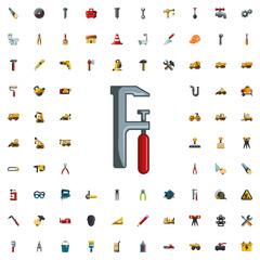 chainsaw icon illustration