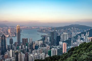 香港・ビクトリアピークからの風景