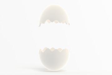 卵の殻のフレーム