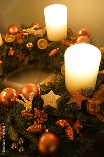 advent vier brennende kerzen am adventskranz stock photo and royalty free images on fotolia. Black Bedroom Furniture Sets. Home Design Ideas