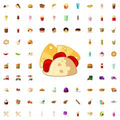 taco icon illustration
