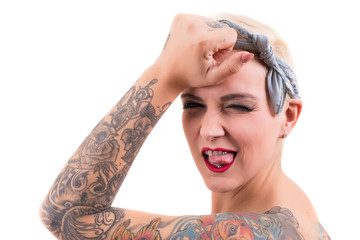 Tattooed Woman