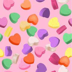 Decorative vector love elements.