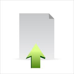 upload icon concept illustration design graphic