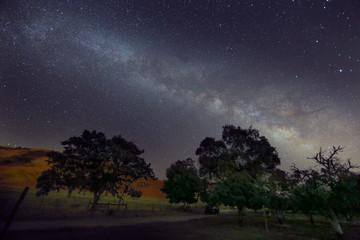 Starry Night Sky Milky Way