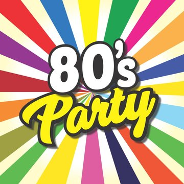 80's party label