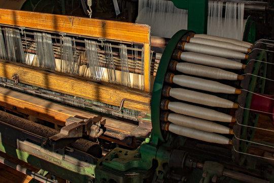 19th Century Weaving Loom - Lowell MA