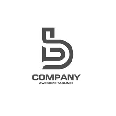 creative letter B logo. Abstract business logo design template. modern Letter B Logo template editable for your business.