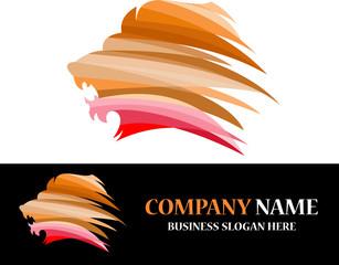 lion digital logo