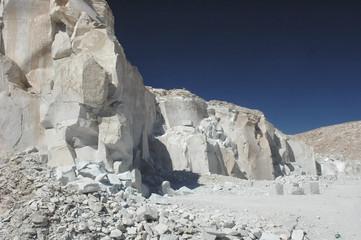 The gypsum quarry of Toconao