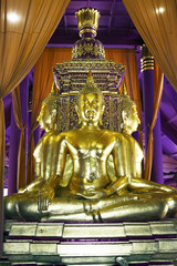 Mueang Boran inside temple Buddha Thailand