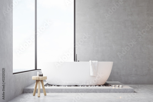 Bathroom With Rectangular Window Stock Photo And Royalty Free Images On Pic