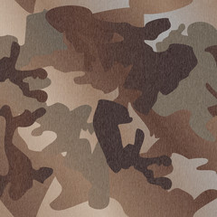 Camouflage pattern background clothing print, repeatable camo glamour