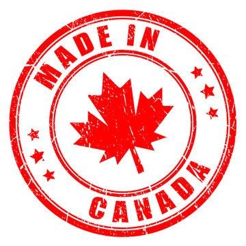 Made in Canada vector icon
