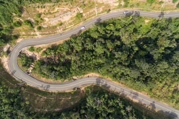 Bokor Kampot Cambodia Aerial Photo