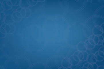 Modern blue circular abstract droplet Pattern background