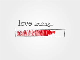 love loading, miłość