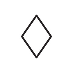 Diamonds icon illustration