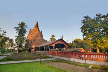 Hindu temples of Sivadol in Sivasagar, in the Indian state of Assam with  the tallest tower in India