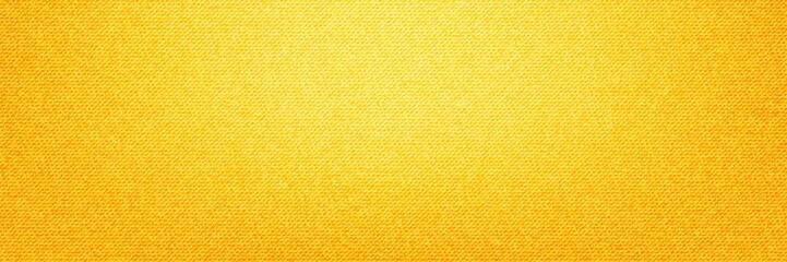 Yellow Denim Textile background Fototapete