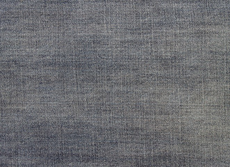 closeup denim cloth texture, old blue jeans background