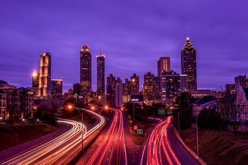 Atlanta skyline Fotomurales