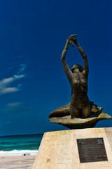 Statue of Isla Mujeres