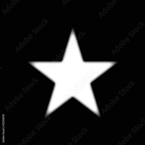 Fuzzy Black Background : Quot fuzzy white star black background imagens e vetores de