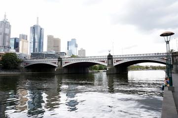 Skyscrapers in Melbourne