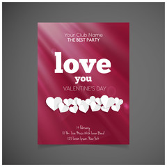 Happy Valentines Day Brochure.