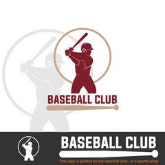baseball logo, for club or shop