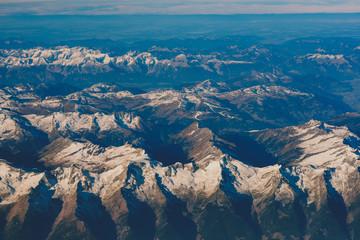 Alps under show