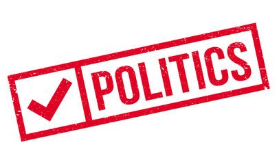 Politics rubber stamp