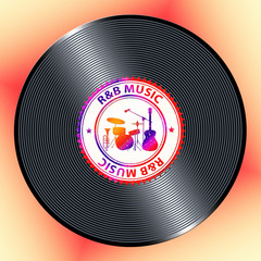 R&B Music Meaning Rhythm And Blues Soul