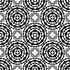 circular elements of the pattern. Seamless background
