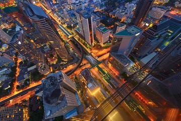 Sathorn Intersection, Bangkok, Thailand
