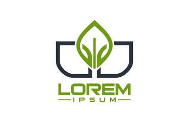 haman natue green logo, icon, symbol