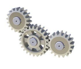 3D model of gear transmission element