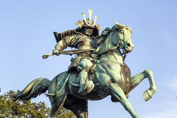Statue of Kusunogi Masashige in Tokyo