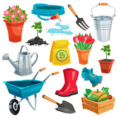 Garden Set With Sprout And Inventory