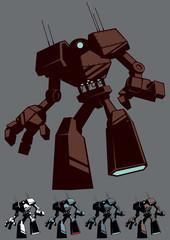 Giant Robot Isolated