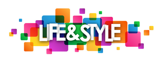 LIFE & STYLE Vector Letters Icon